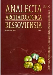 Analecta Archaeologica Ressoviensia t. 2