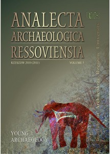 Analecta Archaeologica Ressoviensia t. 5