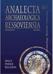 Analecta Archaeologica Ressoviensia t. 6