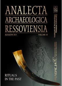 Analecta Archaeologica Ressoviensia t. 10
